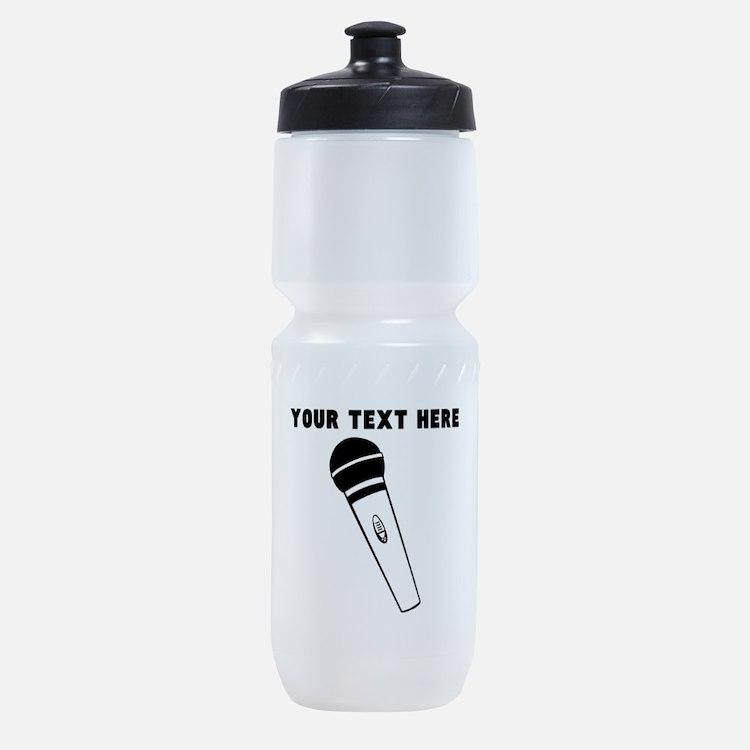 Custom Microphone Sports Bottle