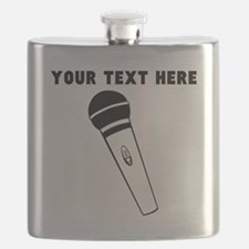 Custom Microphone Flask