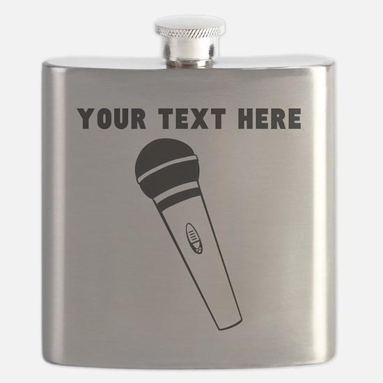 Custom Microphone Flask