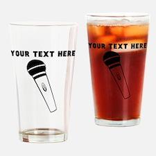 Custom Microphone Drinking Glass