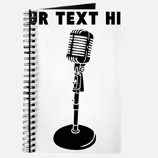 Custom Radio Microphone Journal