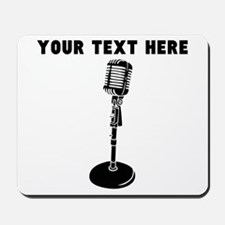 Custom Radio Microphone Mousepad