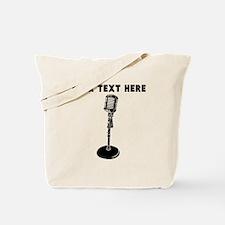 Custom Radio Microphone Tote Bag