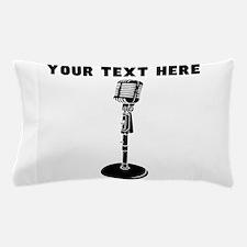 Custom Radio Microphone Pillow Case