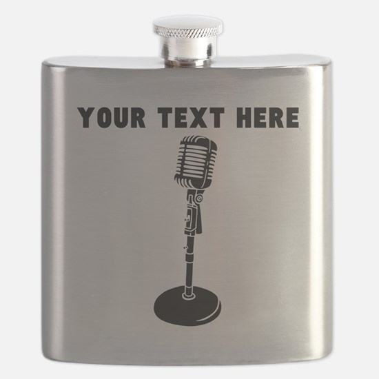 Custom Radio Microphone Flask