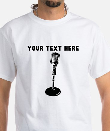 Custom Radio Microphone T-Shirt