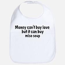 miso soup (money) Bib