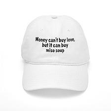 miso soup (money) Baseball Cap