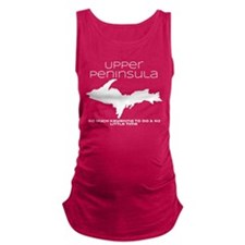 So Much Kayaking Maternity Tank Top