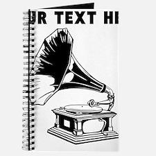 Custom Gramophone Record Player Journal