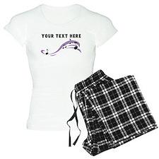 Custom Music Notes pajamas