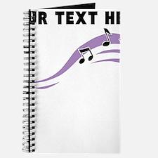 Custom Music Notes Journal