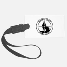 SDCVC Black and White Logo Luggage Tag