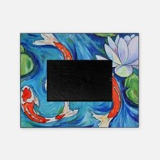 Koi Fish Pond Picture Frame