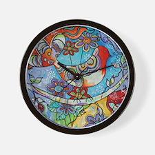 Indian Summer Bird Wall Clock