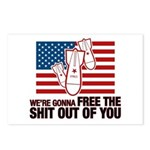 We're Gonna Free... Postcards (Package of 8)