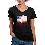 We're Gonna Free... Women's V-Neck Dark T-Shirt