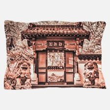 The Chinese Gate Pillow Case