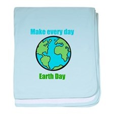 Earth Day baby blanket