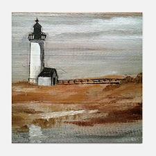 Annisquam Lighthouse Tile Coaster