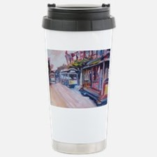 San Francisco Cable Car Stainless Steel Travel Mug