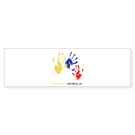 Colombian hands Sticker (Bumper)