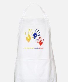 Colombian hands Apron