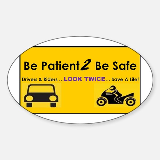 Motorcycle Awareness Bumper Stickers CafePress - Custom motorcycle bumper stickers awareness