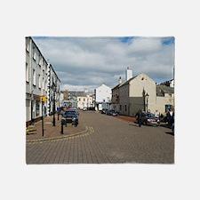 whitehaven town centre Throw Blanket