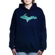 Oxidized Copper Women's Hooded Sweatshirt