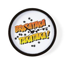 Brakataka Wall Clock