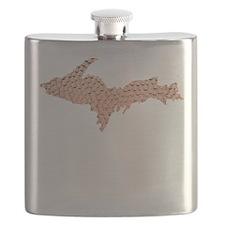 Hammered Copper Flask