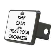 Keep Calm and Trust Your Organizer Hitch Cover