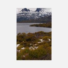 cloudy cradle mountain Rectangle Magnet