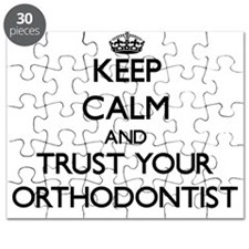 Keep Calm and Trust Your Orthodontist Puzzle