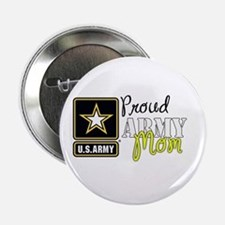 "Proud Army Mom 2.25"" Button"