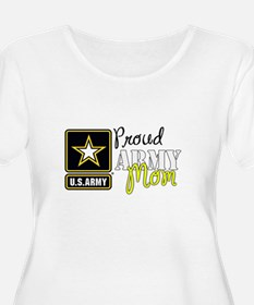Proud Army Mom Plus Size T-Shirt
