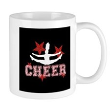 Cheerleader black and red Mugs
