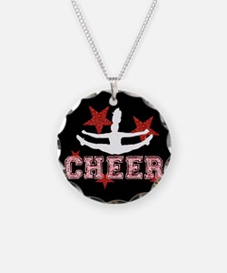 Cheerleader black and red Necklace