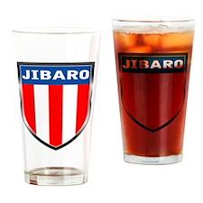 Jibaro Shield Drinking Glass