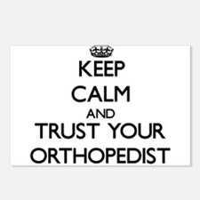 Keep Calm and Trust Your Orthopedist Postcards (Pa