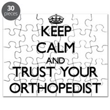 Keep Calm and Trust Your Orthopedist Puzzle