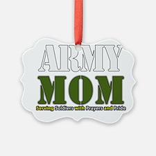 Army Mom Prayers Ornament