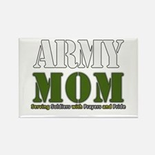 Army Mom Prayers Magnets