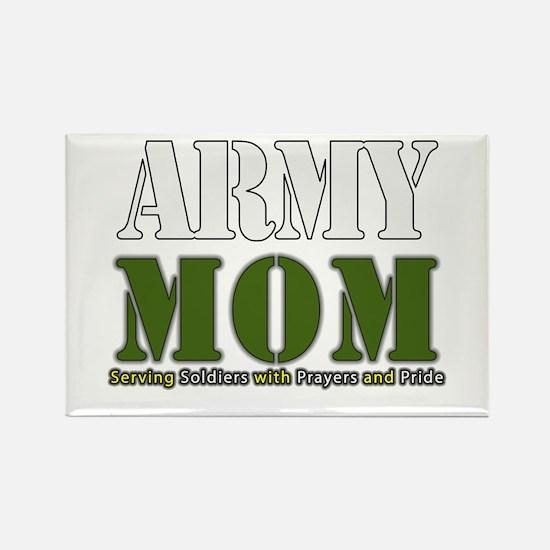 Army Mom Prayers Magnets