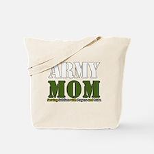 Army Mom Prayers Tote Bag