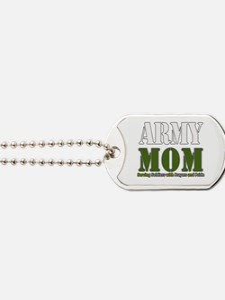 Army Mom Prayers Dog Tags