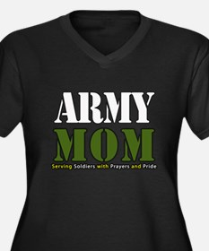 Army Mom Prayers Plus Size T-Shirt