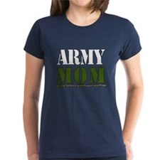 Army Mom Prayers T-Shirt