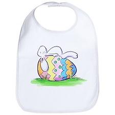 Sleeping Easter Bunny Bib